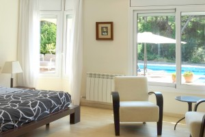Windows villa in Salou