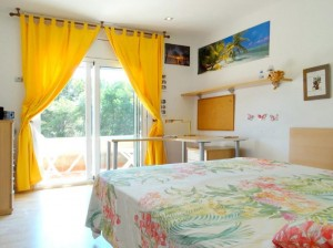 Bedrooms views Villa Salou