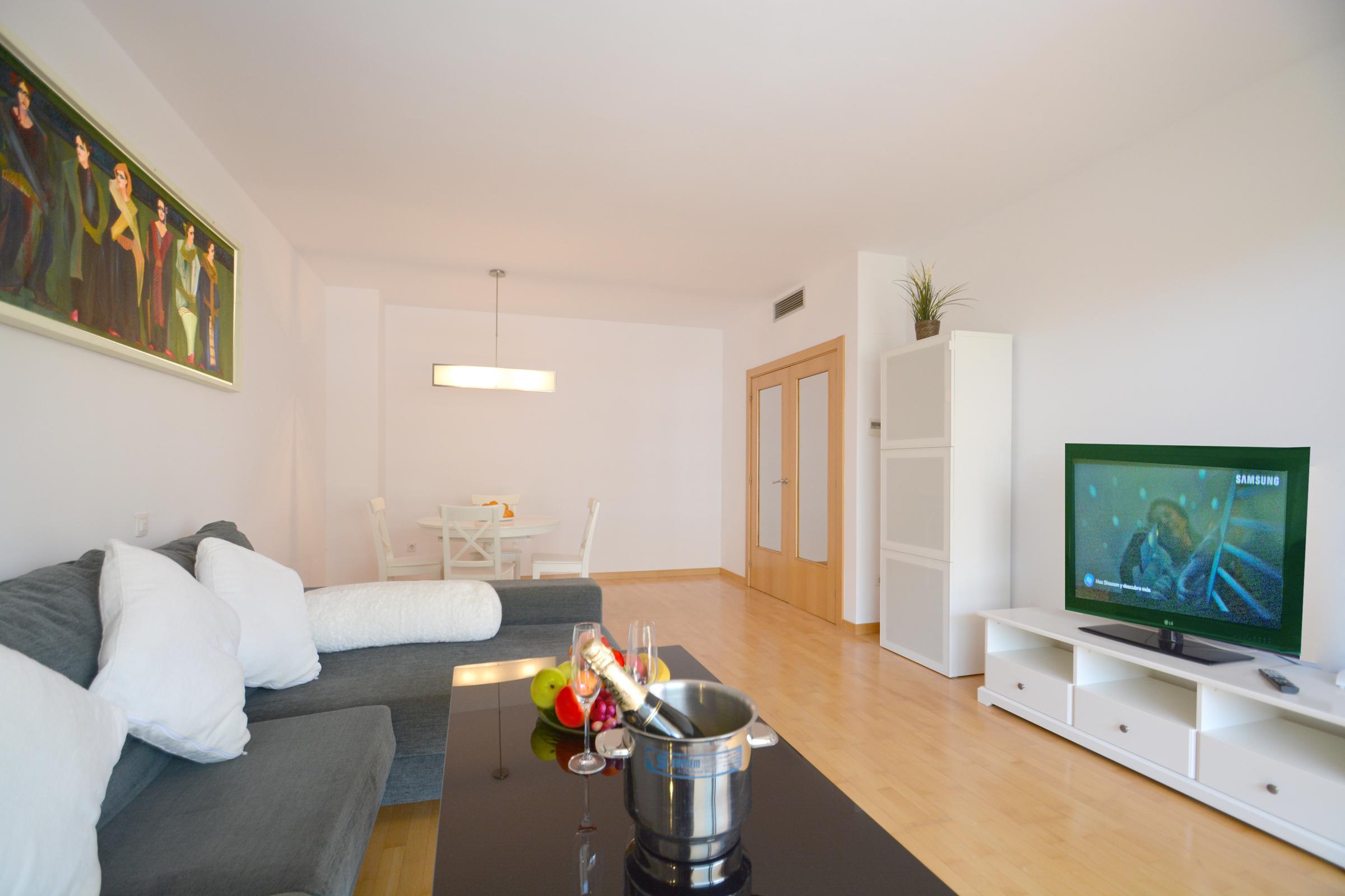 Apartamento preparado para alquiler